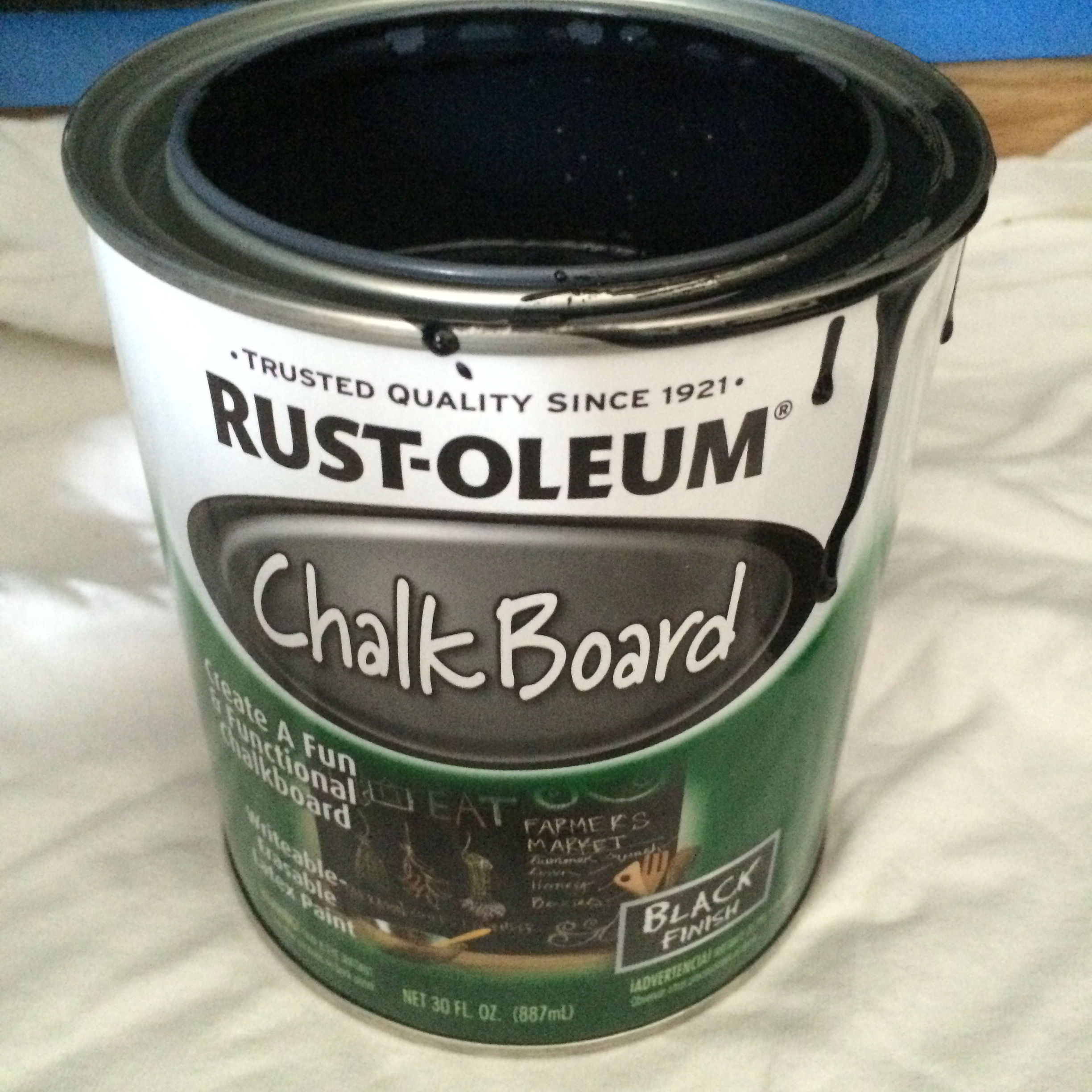make a magnetic chalkboard wall my one and only home